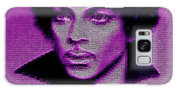 Prince - Tribute In Purple Galaxy Case