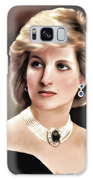 Princess Diana Galaxy Case by Pennie  McCracken