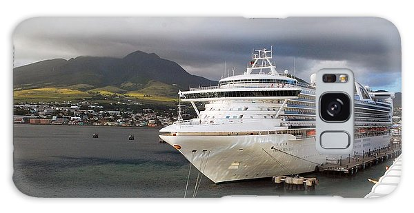 Princess Emerald Docked At Barbados Galaxy Case