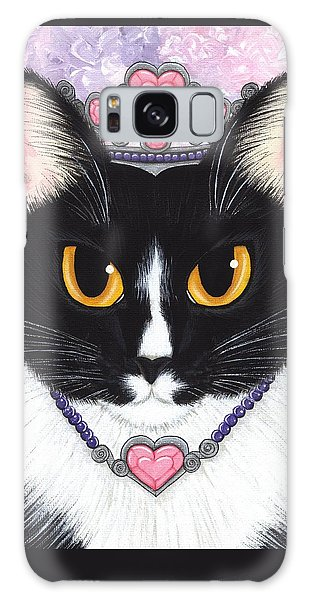 Princess Fiona -tuxedo Cat Galaxy Case by Carrie Hawks