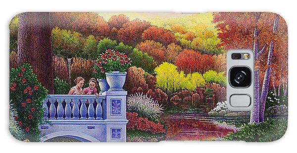 Princess Gardens Galaxy Case by Michael Frank