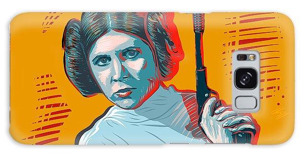 Galaxy Case featuring the digital art Princess Leia by Antonio Romero
