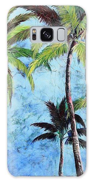 Princeville Palms  Galaxy Case