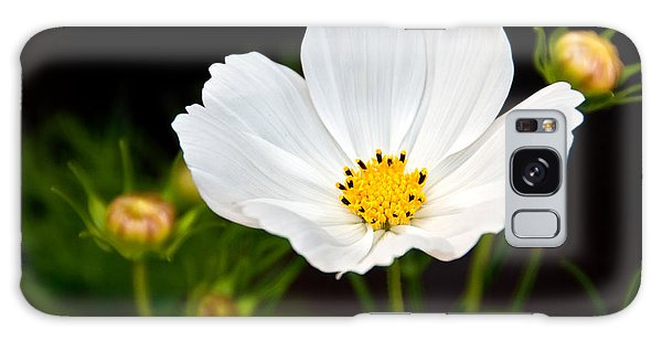 Pristine Poppy Galaxy Case