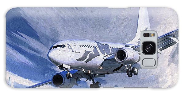 Private Jet M-ybbj Galaxy Case