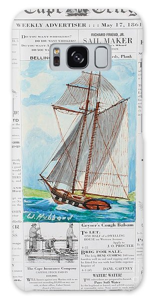 Privateer Off Charleston, Sc Galaxy Case