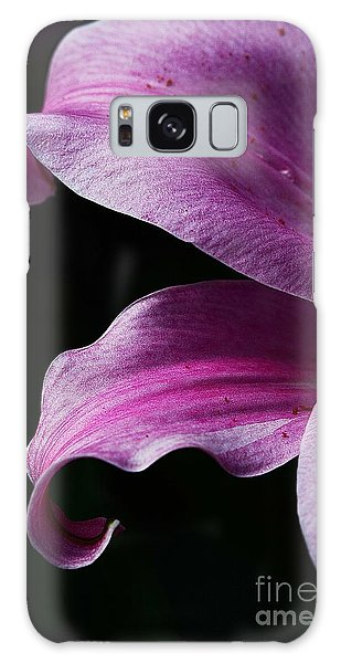Profile In Pink Galaxy Case by Cindy Manero