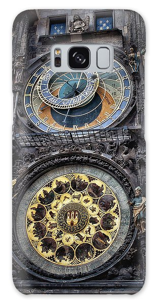 Progue Astronomical Clock Galaxy Case by Sheila Mcdonald
