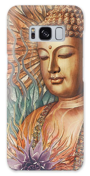 Proliferation Of Peace - Buddha Art By Christopher Beikmann Galaxy Case