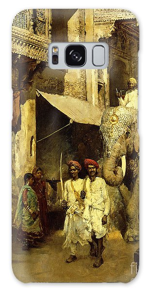 Turban Galaxy Case - Promenade On An Indian Street by Edwin Lord Weeks