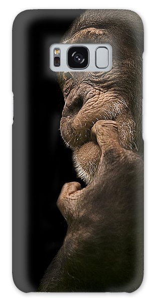 Chimpanzee Galaxy S8 Case - Promiscuous Girl by Paul Neville