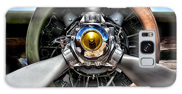 Bomber Galaxy Case - Propeller Art   by Olivier Le Queinec