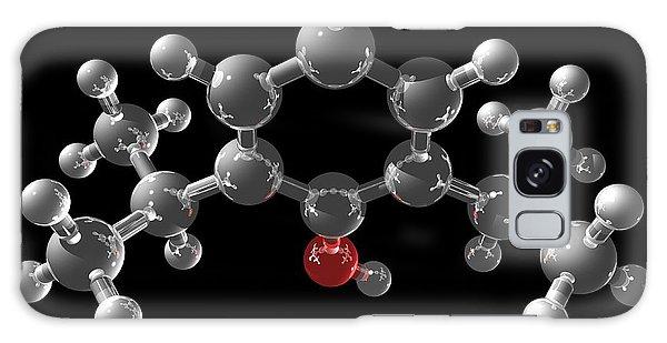 Propofol Molecule Galaxy Case