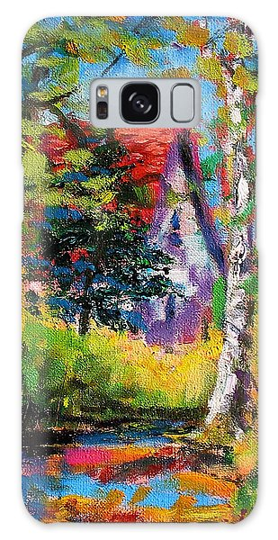 Prospect Driveway Galaxy Case by Les Leffingwell
