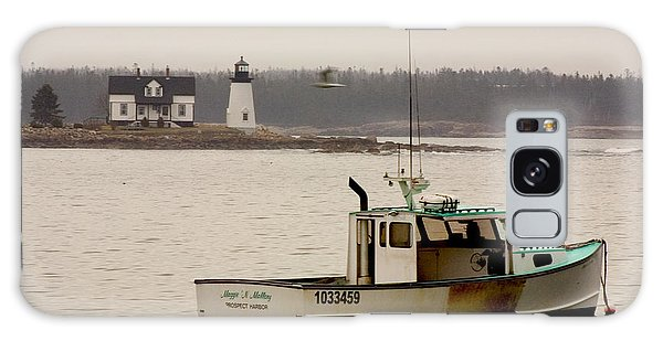 Prospect Harbor Lighthouse Galaxy Case