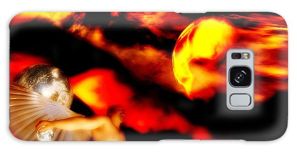 Protection Galaxy Case by Isabella F Abbie Shores FRSA