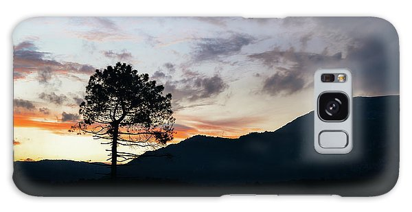 Provence, France Sunset Galaxy Case
