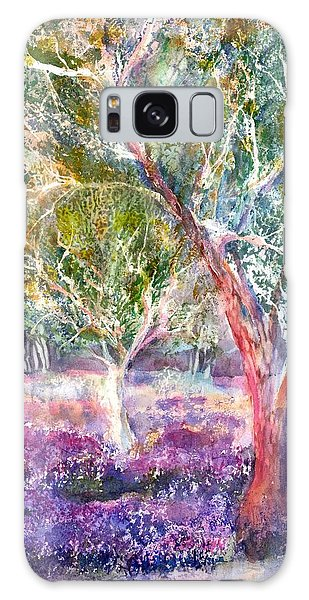Provence Lavender And Olive Trees Galaxy Case