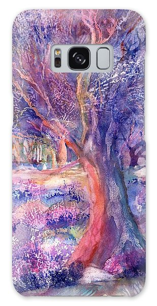 Provence Olive Tree In Lavender Field Galaxy Case