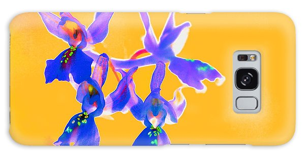Orange Provence Orchid  Galaxy Case
