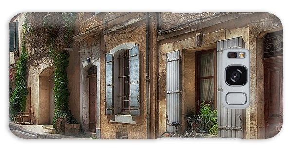 Provence Street Scene Galaxy Case