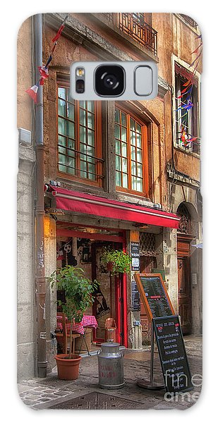 French Cafe Galaxy Case