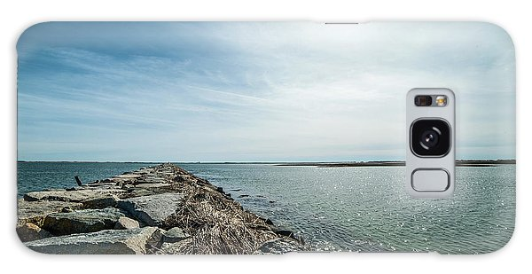 Provincetown Breakwater Galaxy Case