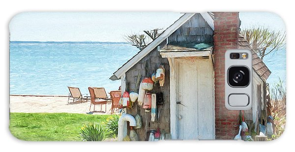 Provincetown Shed Galaxy Case