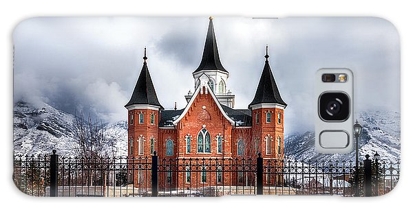 Provo City Center Temple Lds Large Canvas Art, Canvas Print, Large Art, Large Wall Decor, Home Decor Galaxy Case by David Millenheft