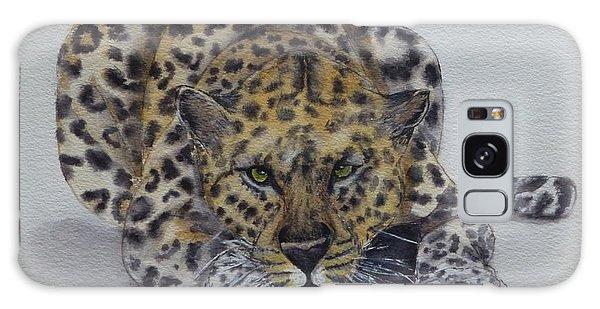 Prowling Leopard Galaxy Case