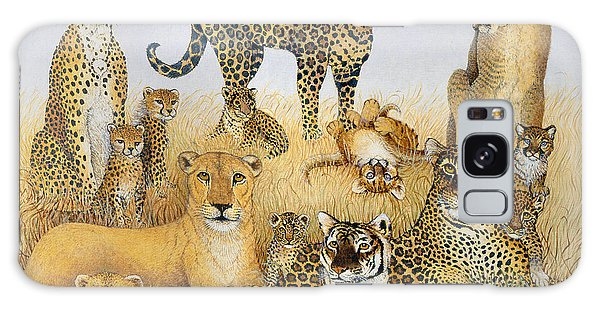 The Big Cats Galaxy Case