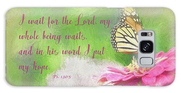 Psalm 130 Galaxy Case