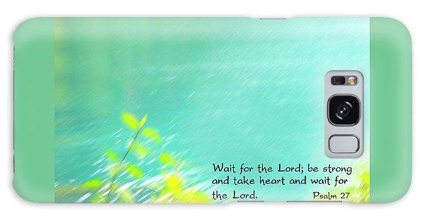 Psalm 27 Galaxy Case