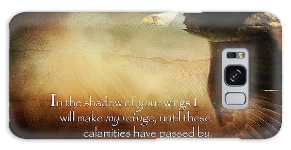 Psalm 57 Galaxy Case