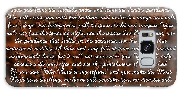Psalm 91 Galaxy Case