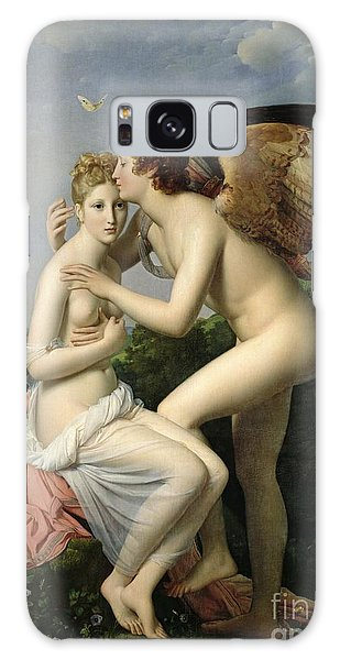 Mythological Galaxy Case - Psyche Receiving The First Kiss Of Cupid by Gerard