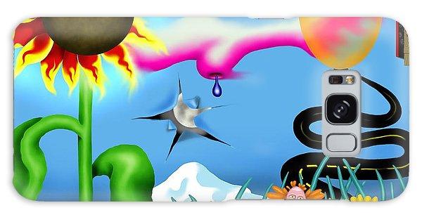 Psychedelic Dreamscape I Galaxy Case