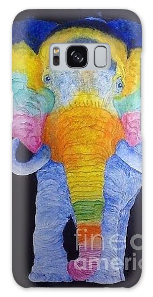 Psychedelic Elephant  Galaxy Case