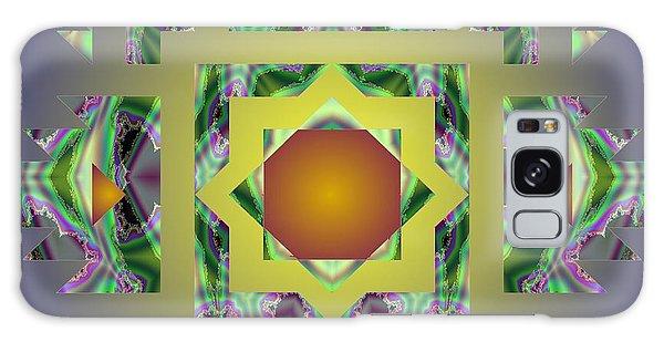 Psychedelic Mandala 002 A Galaxy Case by Larry Capra