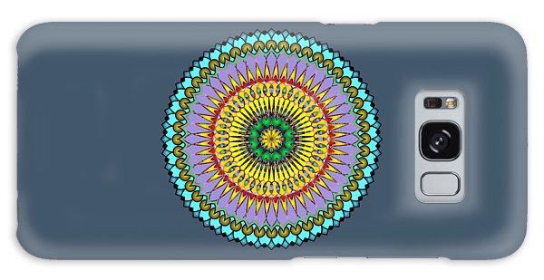 Psychedelic Mandala 005 A Galaxy Case by Larry Capra