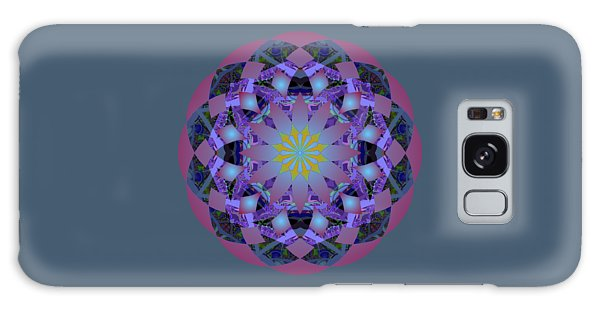 Psychedelic Mandala 006 A Galaxy Case by Larry Capra