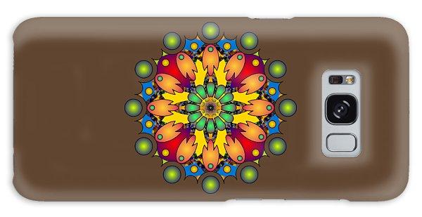 Psychedelic Mandala 009 A Galaxy Case