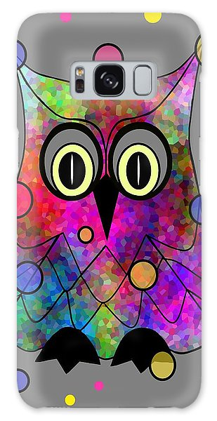 Psychedelic Owl Galaxy Case