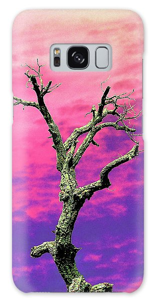 Psychedelic Tree Galaxy Case