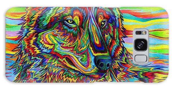 Psychedelic Wolf Galaxy Case