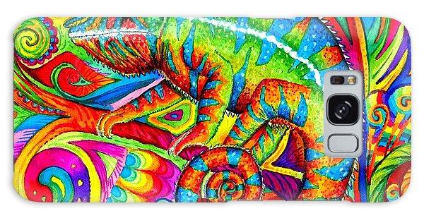Psychedelizard Galaxy Case