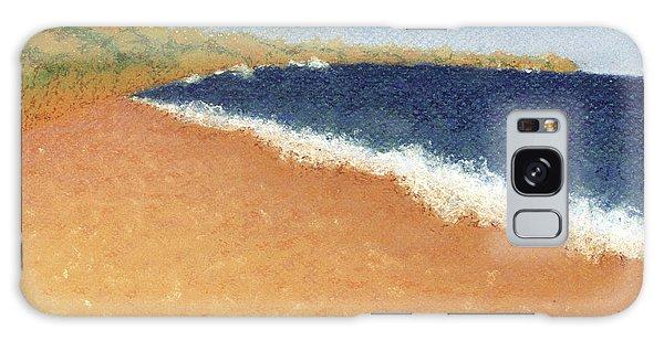 Pt. Reyes Beach Galaxy Case