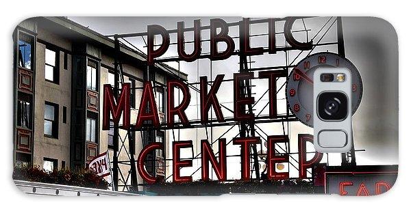 Public Market Center Galaxy Case by Janice Spivey