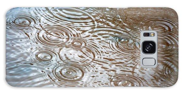Puddle Patterns Galaxy Case by Gwyn Newcombe