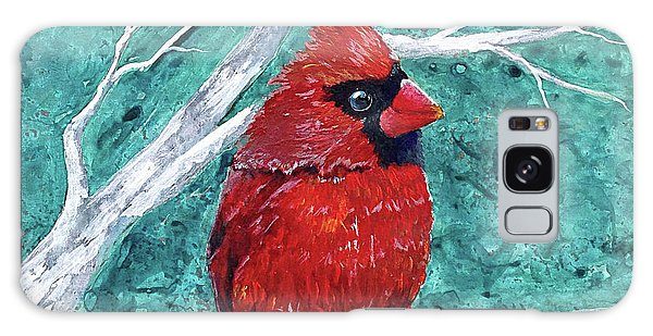 Pudgy Cardinal Galaxy Case